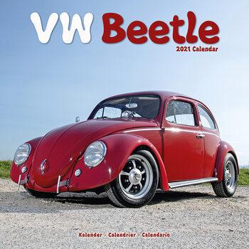 Calendário 2021 Beetle (VW)