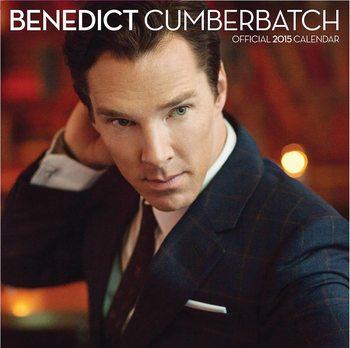 Calendário 2018 Benedict Cumberbatch - Sherlock
