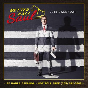 Calendário 2018 Better Call Saul