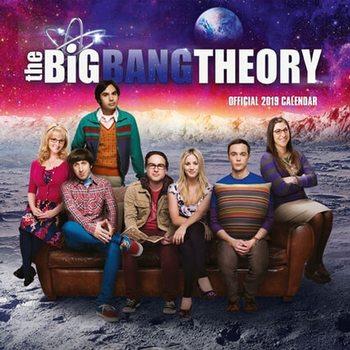 Calendário 2019  Big Bang Theory