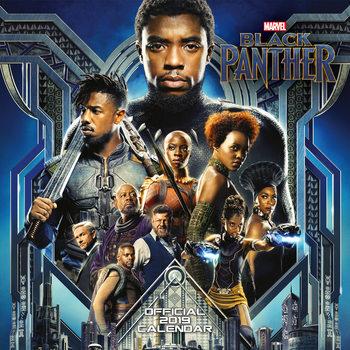 Calendário 2019  Black Panther