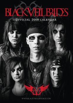 Calendário 2018 Black Veil Brides