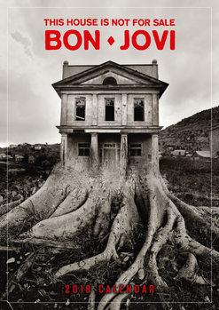 Calendário 2018 Bon Jovi