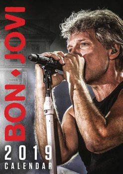 Calendário 2019  Bon Jovi