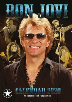 Calendário 2020  Bon Jovi