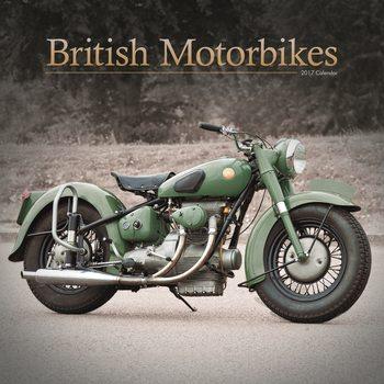Calendário 2017 British Motorbikes