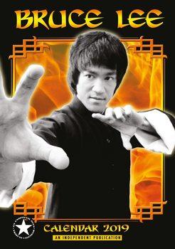 Calendário 2019  Bruce Lee
