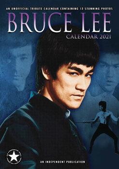 Calendário 2021 Bruce Lee