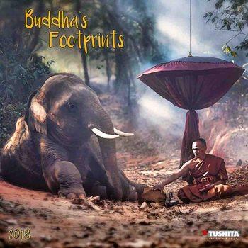 Calendário 2018 Buddhas Footprints