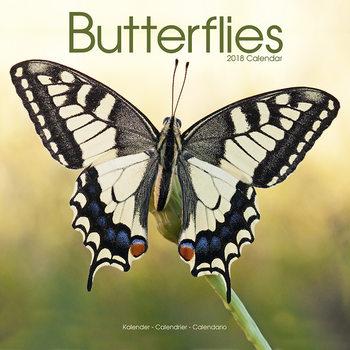Calendário 2018 Butterflies