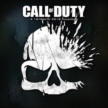 Calendário 2018 Call Of Duty