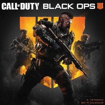 Calendário 2019  Call Of Duty