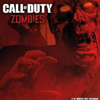 Calendário 2017 Call of Duty: Zombies