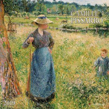 Calendário 2019  Camillo Pissarro