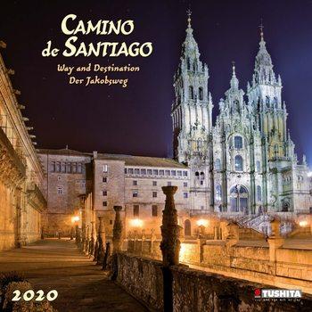 Calendário 2020  Camino de Santiago