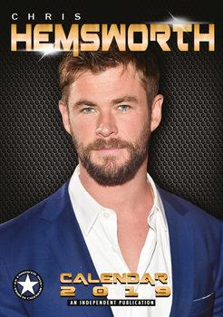 Calendário 2019  Chris Hemsworth