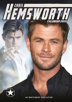 Calendário 2020  Chris Hemsworth
