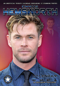 Calendário 2021 Chris Hemsworth