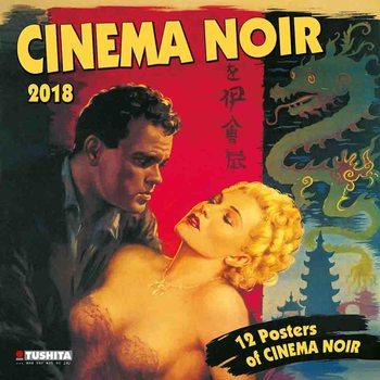 Calendário 2018  Cinema Noir