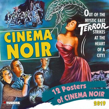 Calendário 2019  Cinema Noir