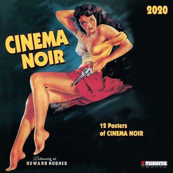 Calendário 2020  Cinema Noir