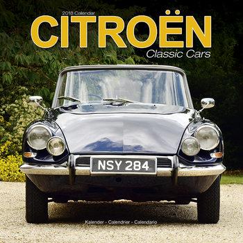 Calendário 2019  Citroen Classic Cars