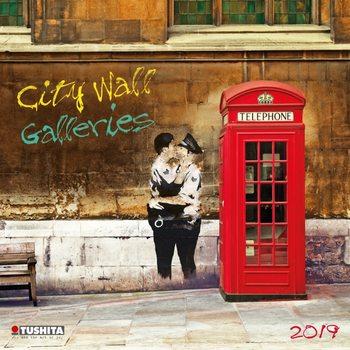 Calendário 2019  City Wall Galeries