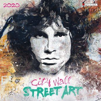 Calendário 2020  City Wall Street Art