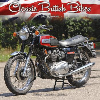 Calendário 2021 Classic British Bikes