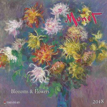 Calendário 2018 Claude Monet - Blossoms & Flowers