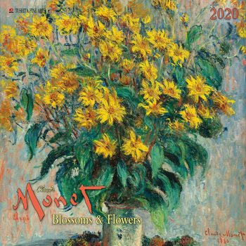 Calendário 2020  Claude Monet - Blossoms & Flowers