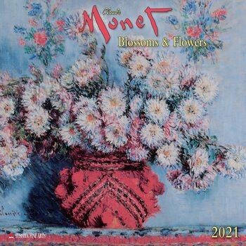 Calendário 2021 Claude Monet - Blossoms & Flowers