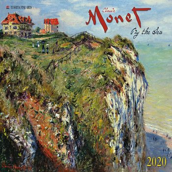 Calendário 2020  Claude Monet - By the Sea
