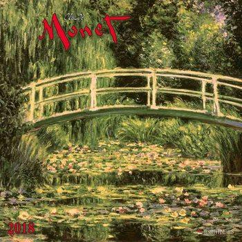 Calendário 2018 Claude Monet