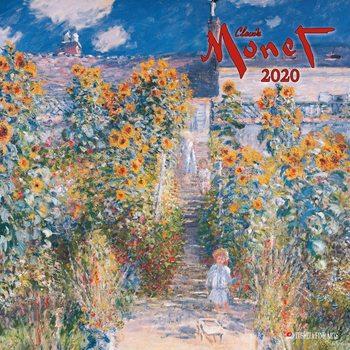 Calendário 2020  Claude Monet
