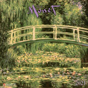 Calendário 2021 Claude Monet