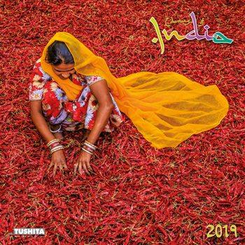 Calendário 2019  Colours of India