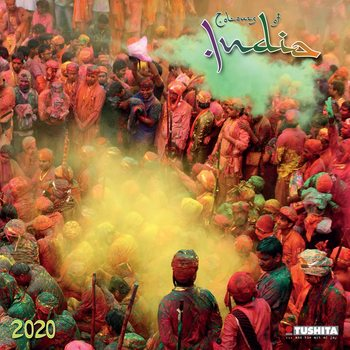 Calendário 2020  Colours of India