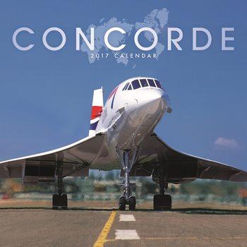 Calendário 2017 Concorde