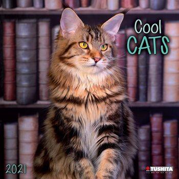 Calendário 2021 Cool Cats