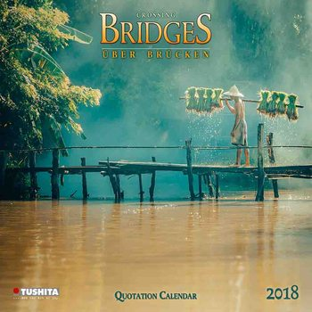 Calendário 2018 Crossing Bridges