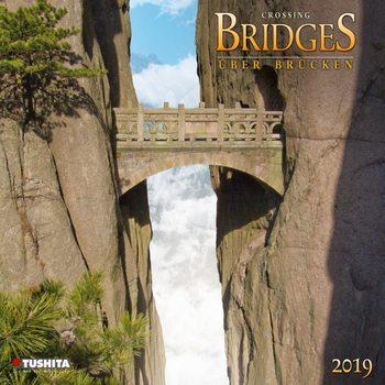 Calendário 2019  Crossing Bridges