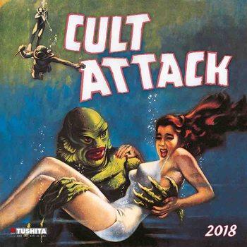 Calendário 2018 Cult Attack
