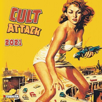 Calendário 2021 Cult Attack