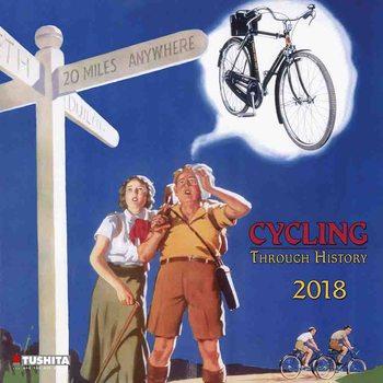 Calendário 2018 Cycling through History