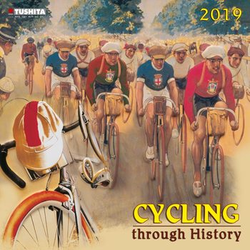 Calendário 2019  Cycling through History