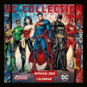 Calendário 2021 DC Comics