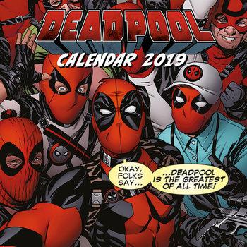 Calendário 2019  Deadpool