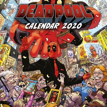 Calendário 2020  Deadpool