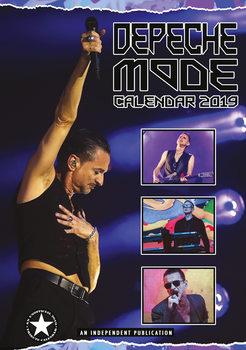Calendário 2019  Depeche Mode